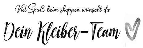 Kleiber Werksverkauf italienische Mode online shopping Gruss
