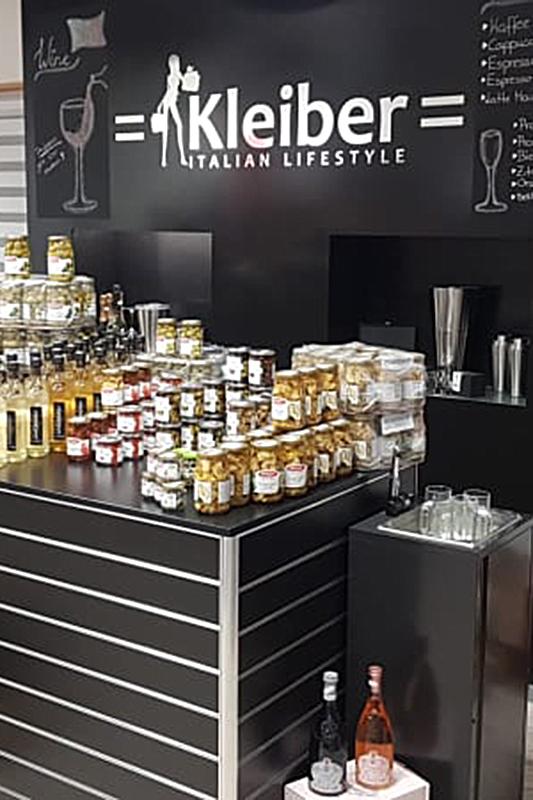 Kleiber Lebensmittel Getränke Kleiber Werksverkauf und italienische Mode